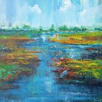 wim-van-de-wege-Landscapes-Landscapes-Autumn-Modern-Age-Impressionism