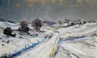wim-van-de-wege-Landscapes-Winter-Landscapes-Modern-Age-Impressionism