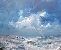 wim-van-de-wege-Landscapes-Winter-Landscapes-Sea-Ocean-Modern-Age-Impressionism