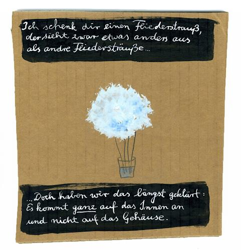 Victor Koch, Fliederstrauß, Plants: Flowers, Miscellaneous Emotions, Contemporary Art