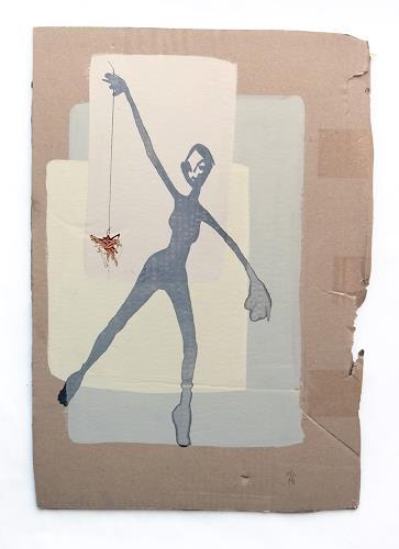 Victor Koch, Etwas für sich alleine haben, People: Women, Emotions: Pride, Contemporary Art
