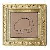 Victor Koch, Asiatisches Elefantenhausbambi in Goldfassung