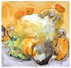 V. Koch, Herbsthund im Obst