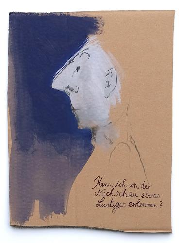 Victor Koch, Nachschau, People: Men, Poetry, Contemporary Art, Abstract Expressionism