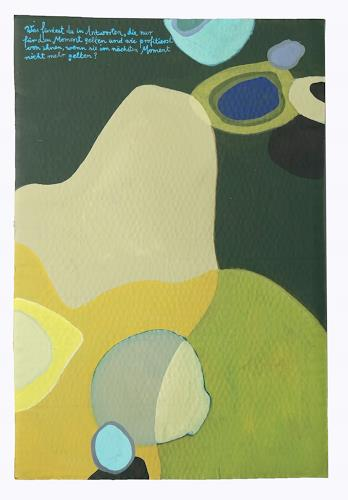 Victor Koch, So oder so, Abstract art, Poetry, Contemporary Art
