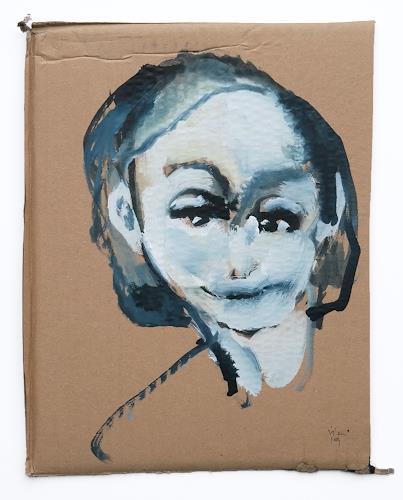 Victor Koch, Rote Lippen sollst du küssen, People: Women, Miscellaneous Romantic motifs, Contemporary Art