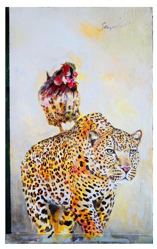 Victor Koch, Sieger, Animals: Land, Emotions: Pride, Contemporary Art
