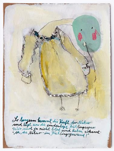 Victor Koch, Frühlingsspur, Fashion, Poetry, Contemporary Art, Abstract Expressionism