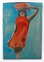 Victor-Koch-People-Women-Meal-Contemporary-Art-Contemporary-Art