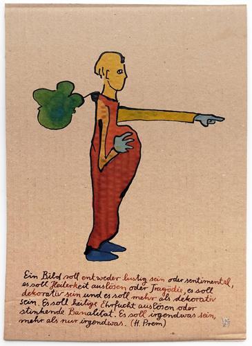 Victor Koch, Der Künstler und der Prem, People: Men, Burlesque, Contemporary Art