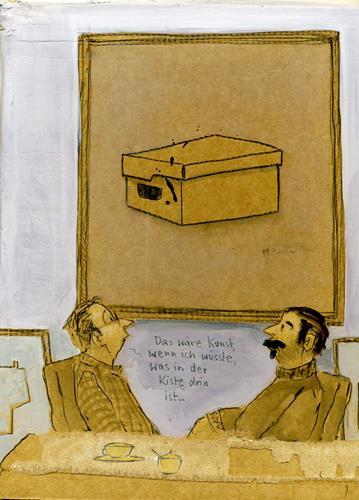 Victor Koch, Der Arbeitskollege..., People: Men, Miscellaneous Emotions, Contemporary Art