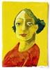 Victor Koch, Dame im roten Kleid