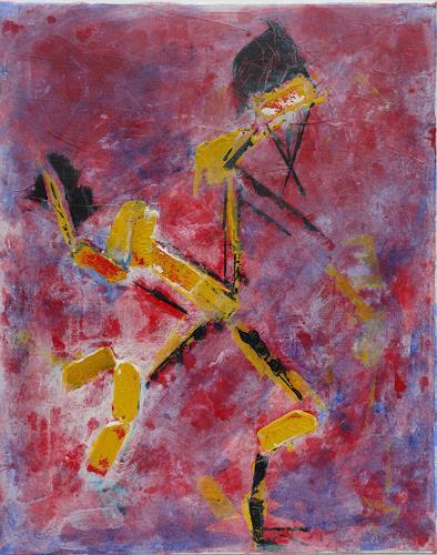 Veronika Ulrich, Feuertänzer, Abstract art, Abstract Expressionism