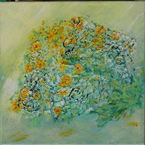 Veronika Ulrich, Frühlingsgruß, Abstract art, Abstract Art