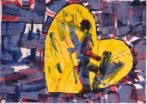 Veronika Ulrich, Abschied, Abstract art, Emotions: Grief, Abstract Expressionism