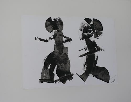 Veronika Ulrich, Tempeltänzer, Miscellaneous People, Abstract Expressionism