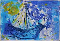 Veronika-Ulrich-Leisure-Nature-Water-Modern-Age-Expressionism-Abstract-Expressionism