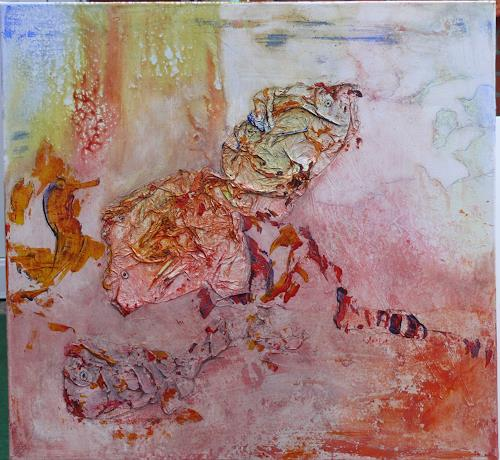Veronika Ulrich, Südsee unter Wasser, Abstract art, Fantasy, Abstract Expressionism