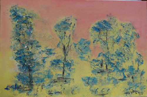 Veronika Ulrich, Traumbäume, Plants: Trees, Miscellaneous Landscapes, Abstract Expressionism