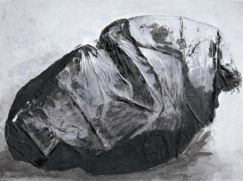 Veronika Ulrich, Der Schlafende, People: Men, Fantasy, Abstract Expressionism