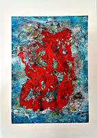 Veronika-Ulrich-Abstract-art-Fantasy-Modern-Age-Expressionism-Abstract-Expressionism