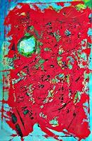 Veronika-Ulrich-Abstract-art-Fantasy-Modern-Age-Expressionism-Abstract-Expressionism