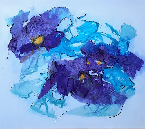 Veronika Ulrich, unvergessliche Träume, Fantasy, Plants: Flowers, Abstract Expressionism, Expressionism