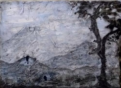Veronika Ulrich, Fernweh, Landscapes: Winter, Landscapes: Mountains, Abstract Art