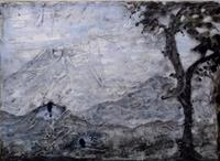 Veronika-Ulrich-Landscapes-Winter-Landscapes-Mountains-Modern-Age-Abstract-Art