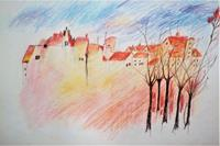 Veronika-Ulrich-Miscellaneous-Landscapes-Miscellaneous-Modern-Age-Expressive-Realism