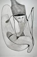 Veronika-Ulrich-Fantasy-Abstract-art-Modern-Age-Expressionism-Abstract-Expressionism