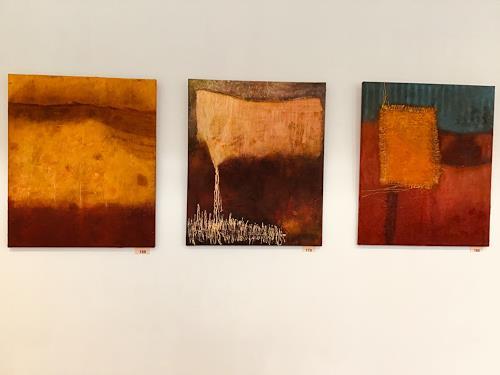 Christine Blum, Meine Ausstellung, Abstract art, Abstract Art