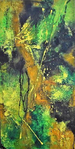 Christine Blum, Dschungel, Abstract art, Abstract Art