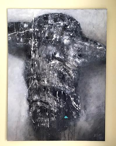 "Christine Blum, ""Vincent 2"", Abstract art, Abstract Art"