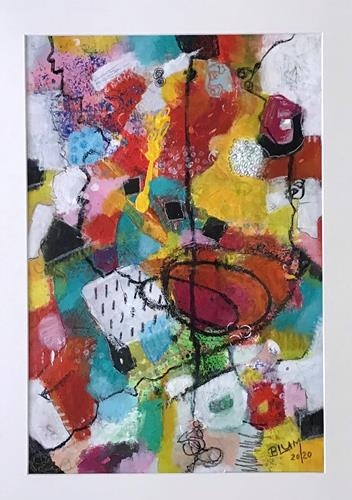 Christine Blum, o.T. 226, Abstract art, Abstract Art