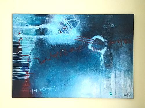 Christine Blum, o.T.230, Abstract art, Abstract Art, Abstract Expressionism