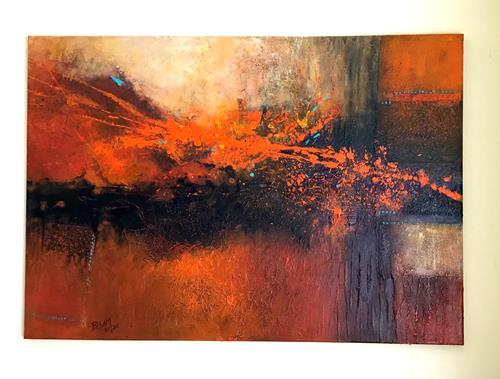 Christine Blum, O.T. 232, Abstract art, Abstract Art