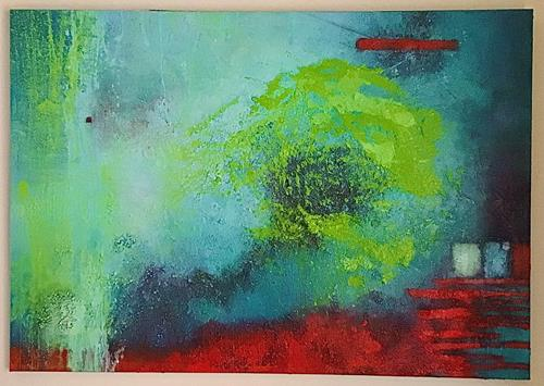 Christine Blum, o.T.244, Abstract art, Abstract Art
