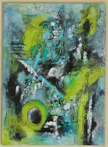 Christine Blum, o.T.245, Abstract art, Abstract Art