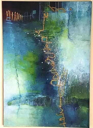 Christine Blum, o.T.2302, Abstract art, Abstract Art