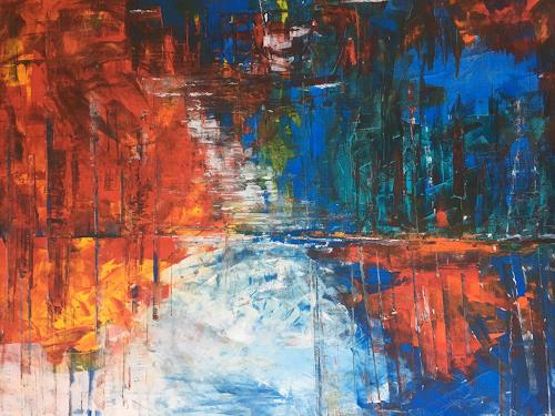 Anthony Joebac, Redair, Burlesque, Colour Field Painting, Abstract Expressionism