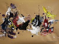 Ruediger-Philipp-Abstract-art-Fantasy-Modern-Age-Abstract-Art-Action-Painting