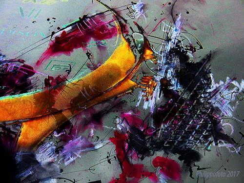 Rüdiger Philipp, so, wie mich meine Beine tragen !, Abstract art, Abstract art, Abstract Expressionism