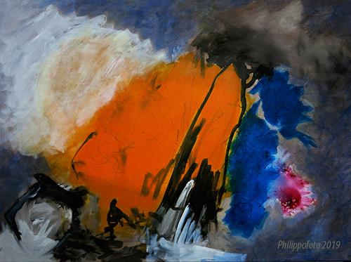 Rüdiger Philipp, was soll passieren ??, Abstract art, Abstract art, Abstract Expressionism