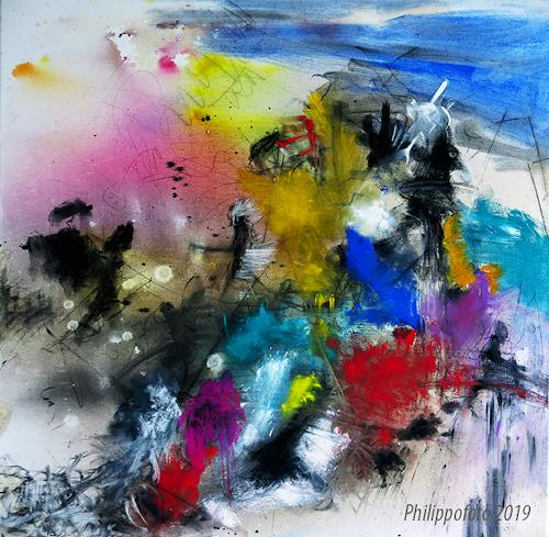 Rüdiger Philipp, was zuerst ?, Abstract art, Abstract art, Abstract Expressionism