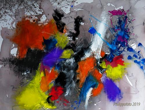 Rüdiger Philipp, wenn man es nicht täte !, Abstract art, Abstract art, Abstract Expressionism
