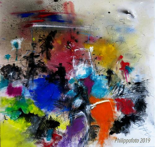 Rüdiger Philipp, immer ist es jetzt !, Abstract art, Abstract art, Abstract Expressionism