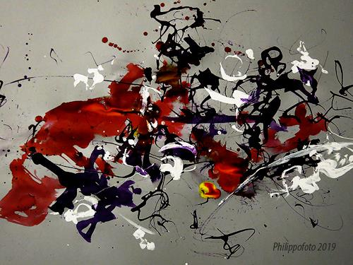 Rüdiger Philipp, weniger als drei, Abstract art, Abstract art, Abstract Expressionism