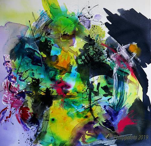 Rüdiger Philipp, das geht gut !, Abstract art, Abstract art, Abstract Expressionism