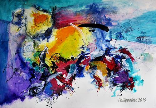 Rüdiger Philipp, wenigstens so !, Abstract art, Abstract art, Abstract Expressionism, Expressionism